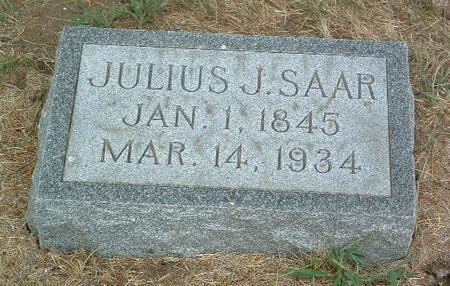 SAAR, JULIUS J. - Mills County, Iowa   JULIUS J. SAAR