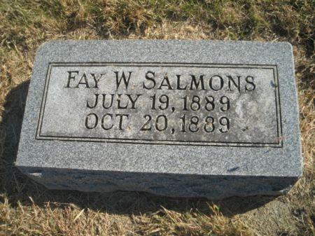 SALMONS, FAY W. - Mills County, Iowa | FAY W. SALMONS