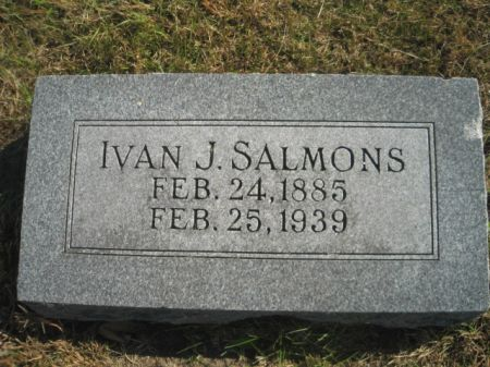 SALMONS, IVAN J. - Mills County, Iowa | IVAN J. SALMONS