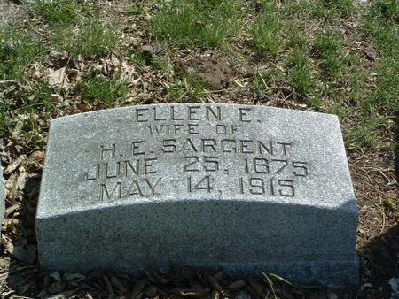 SARGENT, ELLEN E. - Mills County, Iowa | ELLEN E. SARGENT