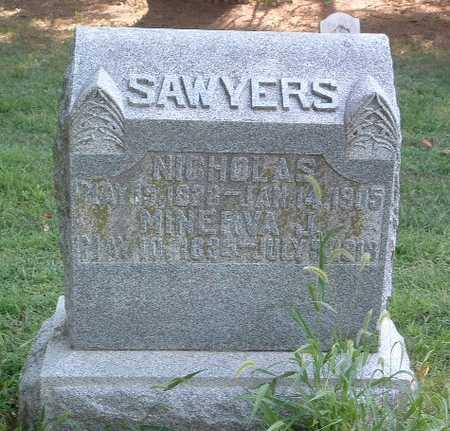 SAWYERS, MINERVA J. - Mills County, Iowa | MINERVA J. SAWYERS