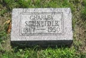 SCHNEIDER, CHARLEY - Mills County, Iowa | CHARLEY SCHNEIDER