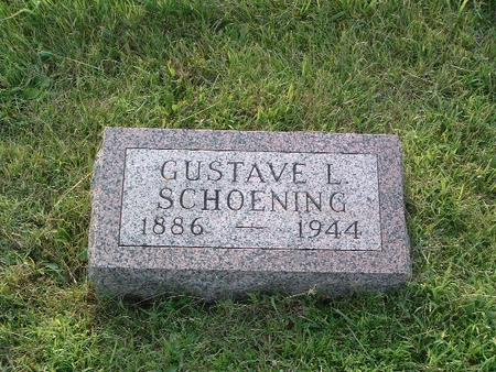 SCHOENING, GUSTAVE L. - Mills County, Iowa   GUSTAVE L. SCHOENING