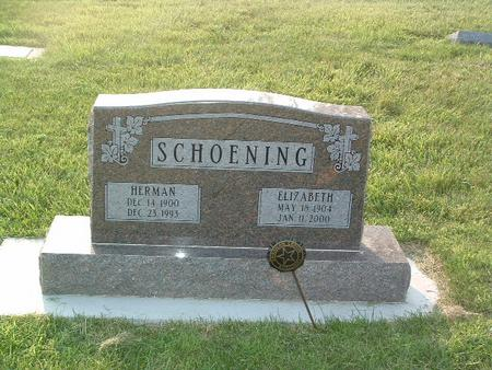 SCHOENING, HERMAN - Mills County, Iowa | HERMAN SCHOENING