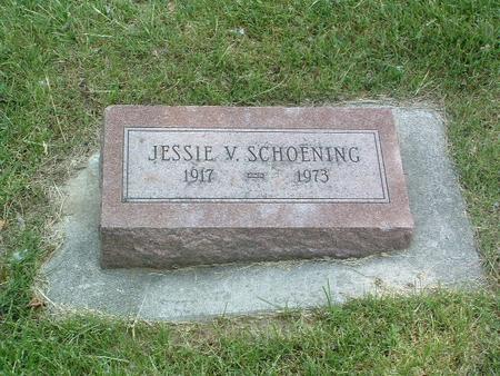 SCHOENING, JESSIE V. - Mills County, Iowa | JESSIE V. SCHOENING