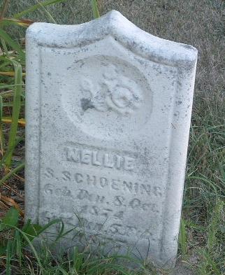 SCHOENING, NELLIE S. - Mills County, Iowa | NELLIE S. SCHOENING