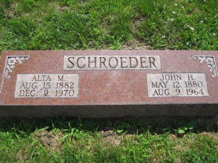 SCHROEDER, JOHN H. - Mills County, Iowa | JOHN H. SCHROEDER