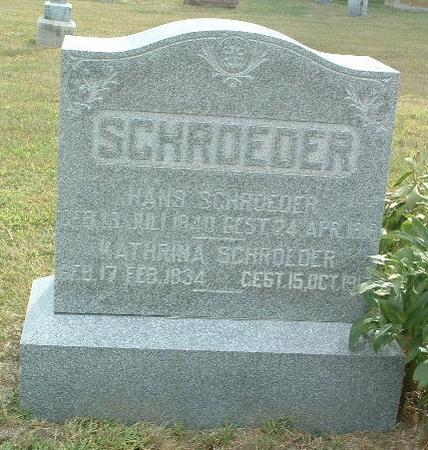 SCHROEDER, KATHRINA - Mills County, Iowa | KATHRINA SCHROEDER