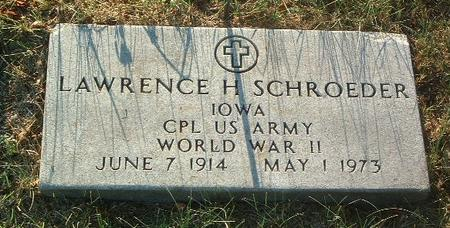SCHROEDER, LAWRENCE - Mills County, Iowa   LAWRENCE SCHROEDER