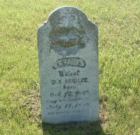 SCHULTZ, EVA E. - Mills County, Iowa | EVA E. SCHULTZ