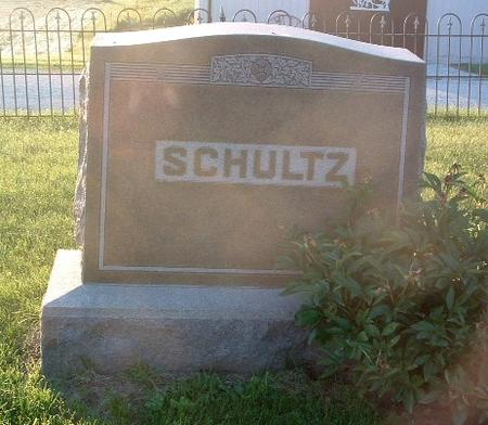 SCHULTZ, FAMILY HEADSTONE - Mills County, Iowa | FAMILY HEADSTONE SCHULTZ
