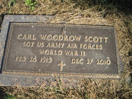SCOTT, CARL WOODROW - Mills County, Iowa | CARL WOODROW SCOTT