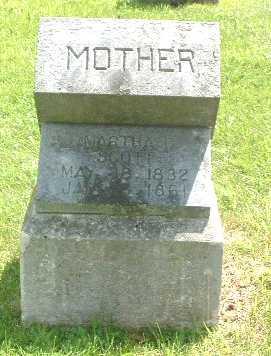 SCOTT, MARTHA C. - Mills County, Iowa   MARTHA C. SCOTT