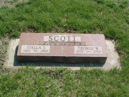 SCOTT, STELLA T. - Mills County, Iowa | STELLA T. SCOTT