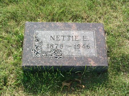 SELL, NETTIE E. - Mills County, Iowa   NETTIE E. SELL