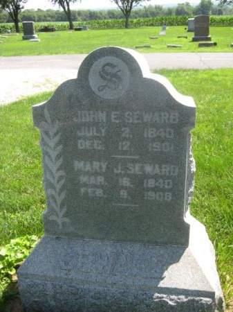SEWARD, MARY J. - Mills County, Iowa | MARY J. SEWARD