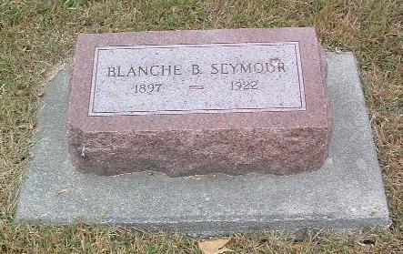 SEYMOUR, BLANCHE B. - Mills County, Iowa | BLANCHE B. SEYMOUR