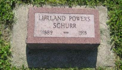 SGHURR, LURLAND POWERS - Mills County, Iowa | LURLAND POWERS SGHURR