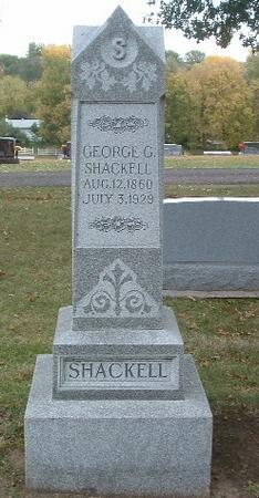 SHACKELL, GEORGE G. - Mills County, Iowa | GEORGE G. SHACKELL