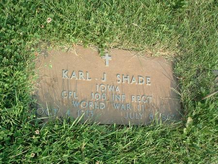 SHADE, KARL J. - Mills County, Iowa | KARL J. SHADE