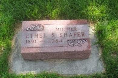 SHAFER, ETHEL S. - Mills County, Iowa | ETHEL S. SHAFER