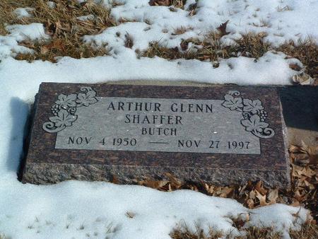 SHAFFER, ARTHUR GLENN - Mills County, Iowa | ARTHUR GLENN SHAFFER