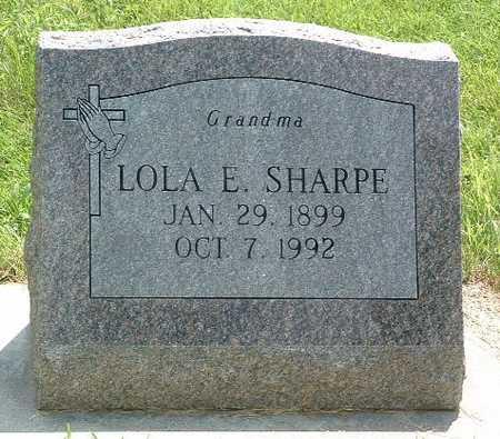 SHARPE, LOLA E. - Mills County, Iowa | LOLA E. SHARPE