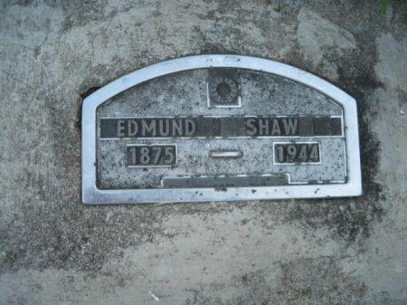 SHAW, EDMUND - Mills County, Iowa   EDMUND SHAW