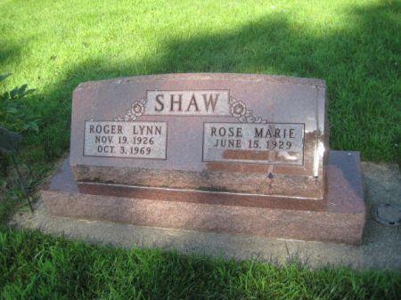 SHAW, ROGER LYNN - Mills County, Iowa | ROGER LYNN SHAW