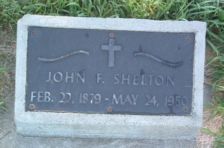 SHELTON, JOHN F. - Mills County, Iowa   JOHN F. SHELTON