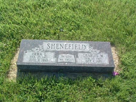 SHENEFIELD, CHARLES W. - Mills County, Iowa | CHARLES W. SHENEFIELD