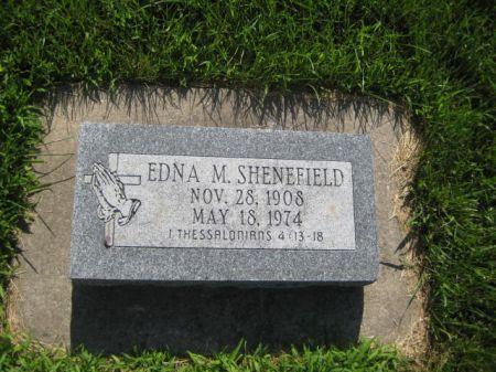 SHENEFIELD, EDNA M. - Mills County, Iowa | EDNA M. SHENEFIELD