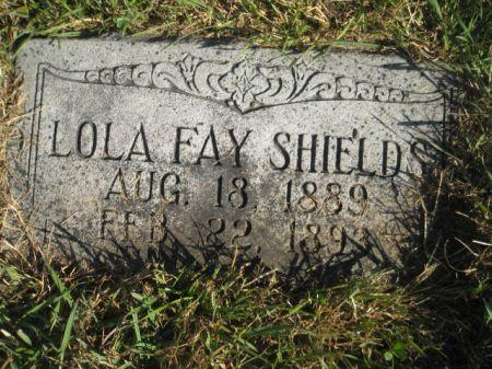 SHIELDS, LOLA FAY - Mills County, Iowa | LOLA FAY SHIELDS