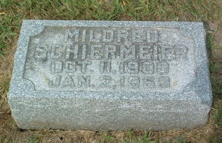 SCHIERMEIER, MILDRED - Mills County, Iowa   MILDRED SCHIERMEIER