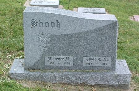 SHOOK, CLYDE, SR. - Mills County, Iowa   CLYDE, SR. SHOOK
