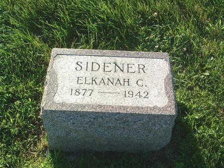 SIDENER, ELKANAH C. - Mills County, Iowa | ELKANAH C. SIDENER