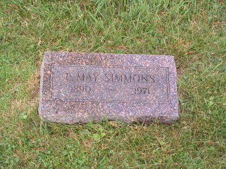 SIMMONS, L. MAY - Mills County, Iowa | L. MAY SIMMONS