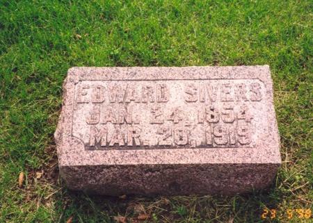 SIVERS, EDWARD - Mills County, Iowa | EDWARD SIVERS