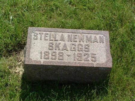 NEWMAN SKAGGS, STELLA - Mills County, Iowa | STELLA NEWMAN SKAGGS
