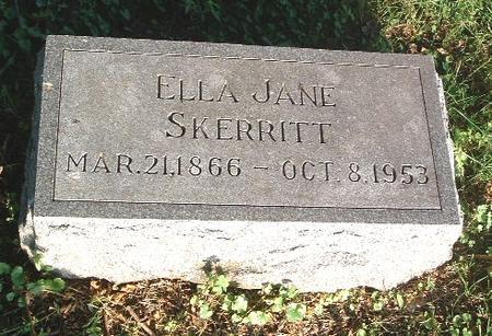 SKERRITT, ELLA JANE - Mills County, Iowa | ELLA JANE SKERRITT