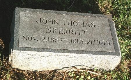 SKERRITT, JOHN THOMAS - Mills County, Iowa | JOHN THOMAS SKERRITT