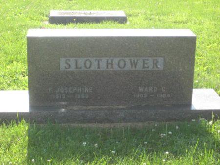 SLOTHOWER, WARD C. - Mills County, Iowa | WARD C. SLOTHOWER