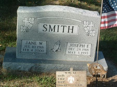SMITH, JANE W. - Mills County, Iowa | JANE W. SMITH