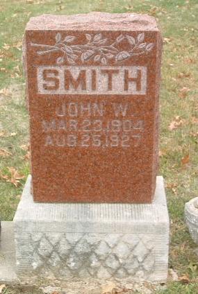 SMITH, JOHN W. - Mills County, Iowa | JOHN W. SMITH