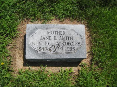 SMITH, JANE B - Mills County, Iowa | JANE B SMITH