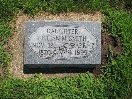 SMITH, LILLIAN M. - Mills County, Iowa   LILLIAN M. SMITH