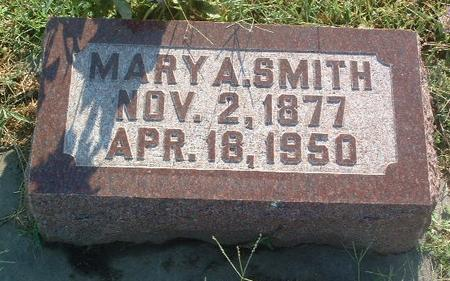 SMITH, MARY A. - Mills County, Iowa   MARY A. SMITH