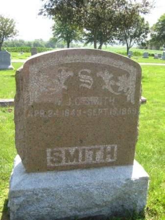 SMITH, W. J. C. - Mills County, Iowa   W. J. C. SMITH