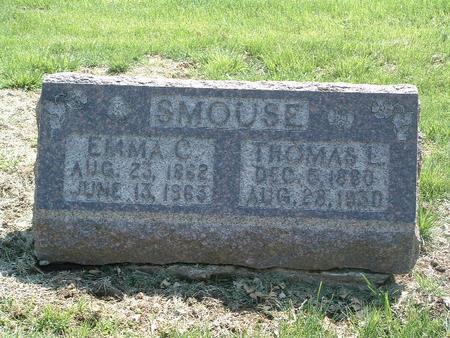 SMOUSE, EMMA C. - Mills County, Iowa | EMMA C. SMOUSE