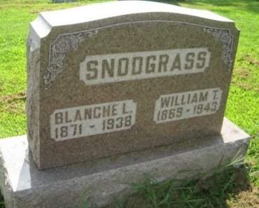 SNODGRASS, BLANCHE L. - Mills County, Iowa | BLANCHE L. SNODGRASS